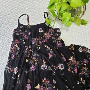 Torrid High Low Floral Dress